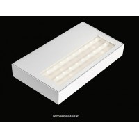 Wandaufleuchte AIR MAXX LED 250 2-fl. 20W 3000K weiss
