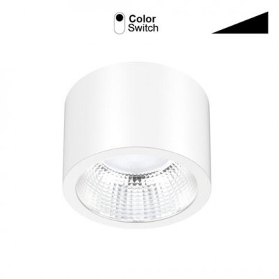 Anbauleuchte LED 230V/13W, 1050lm, 3000/4000/5700°K, CRI80, IP54